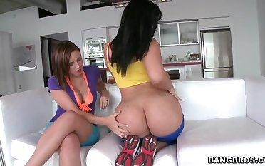 Brooke Lee Adams and Carmen De Luz get naughty